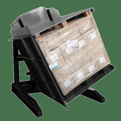 Automatic pallet inverter